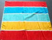Reactive printed 100% cotton beach towel
