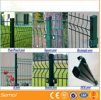 high quality curved 3D garden fence panel (Factoty)