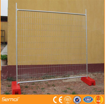 high quality welded temporary fence