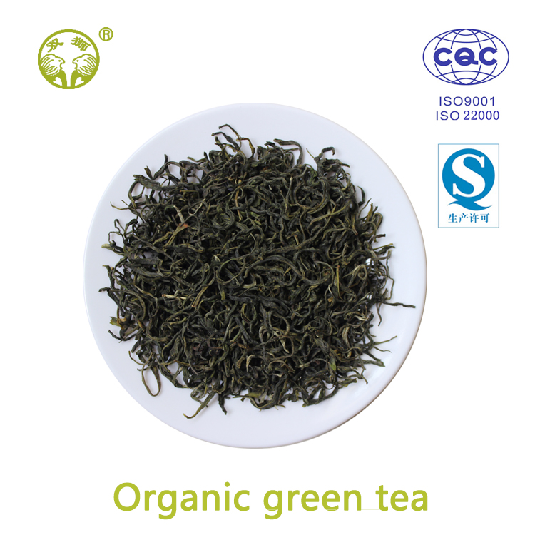China loose organic green tea