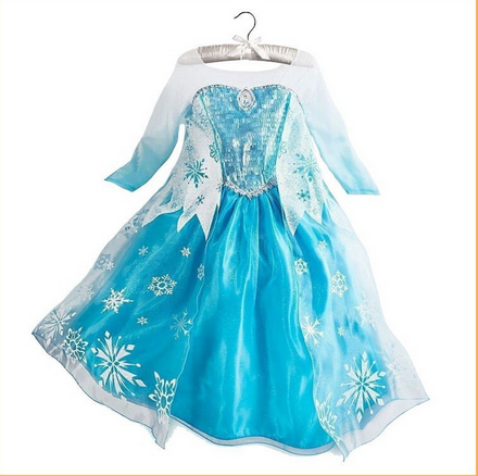 2015 hot selling Frozen Elsa dress, Frozen Princess Dresses, western style party dress