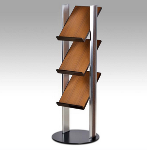 Metal Magazine Display Rack