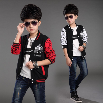 autumn boys coat casual style