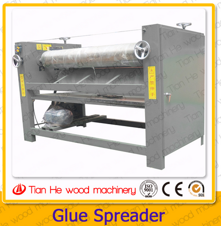 Woodworking machine Veneer Glue Spreader machine