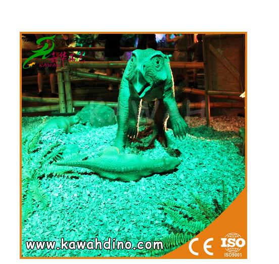 KAWAH Best Price outdoor attractive animatronic dinosaur for sale