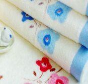 custom printed towel