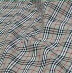 100% Cotton Plaid Twill Fabric for Shirt