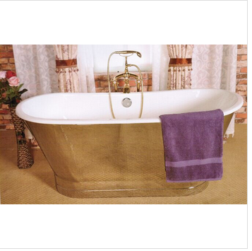 cheap freestanding cast iron bathtub