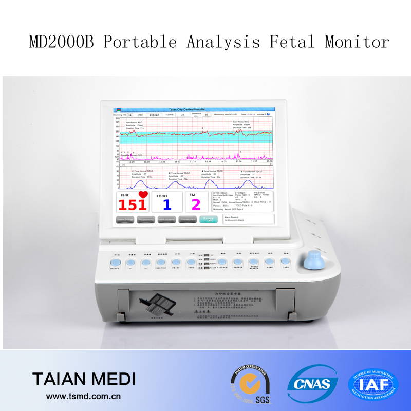 The World's Unique Portable Fetal Monitor With Auto Analysis Function