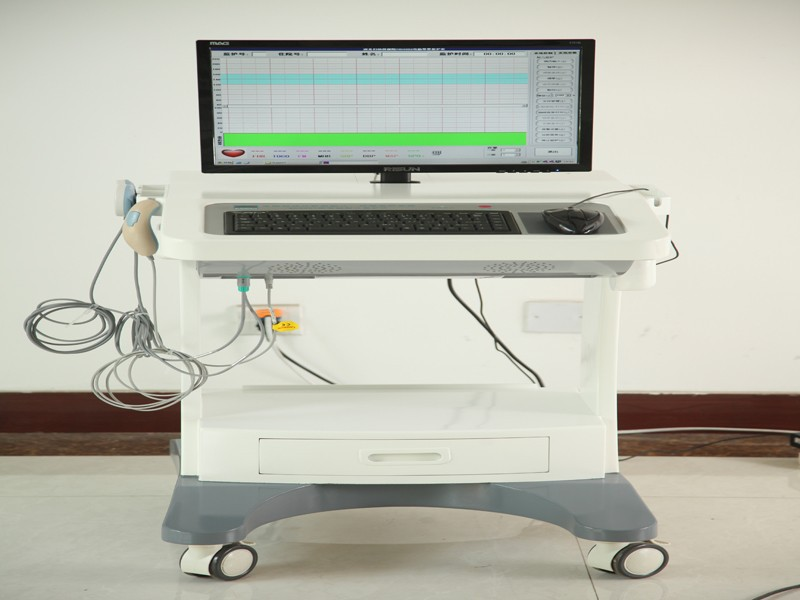 Double Bed Computer Automatic Real-time On-line Analytical Fetal Ultrasonic Monitor