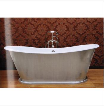 color silver whirlpoor indoor freestanding cast iron tub