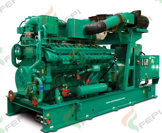 Cummins 1160kw / 1450kva Natural Gas Engine Generator / CNG Generator