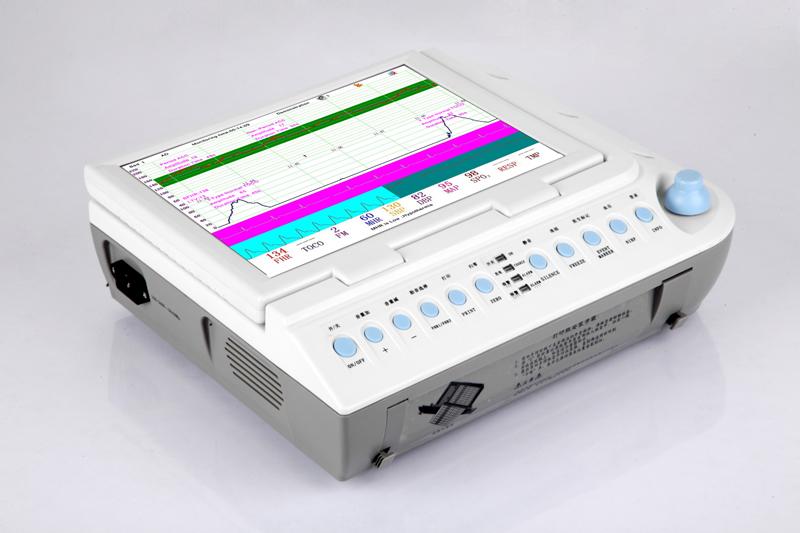 Touch Screen Fetal/Maternal Monitor CTG Belt