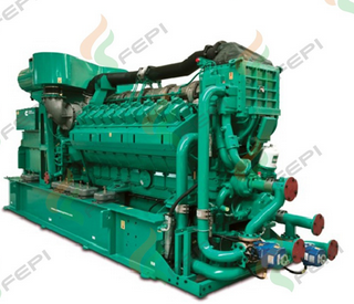 Cummins 2000kw/2500kva Natural Gas Genset