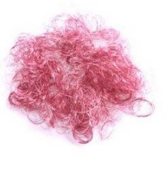 HSY Colored Angel Hair for Decoration(factory)