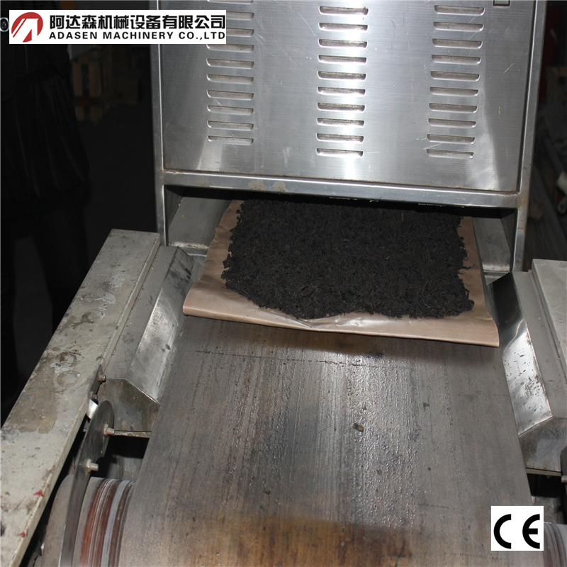 Dryer machine / industrial minrowave small tea leaf processing machine ---tunnel continuous type dryer machine