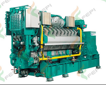 Cummins 1540kw/1925kva Natural Gas Generating Set