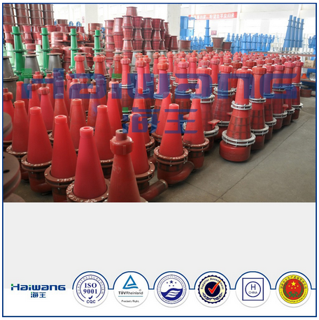 ISO9001China Hydrocyclone Industrial Cyclone