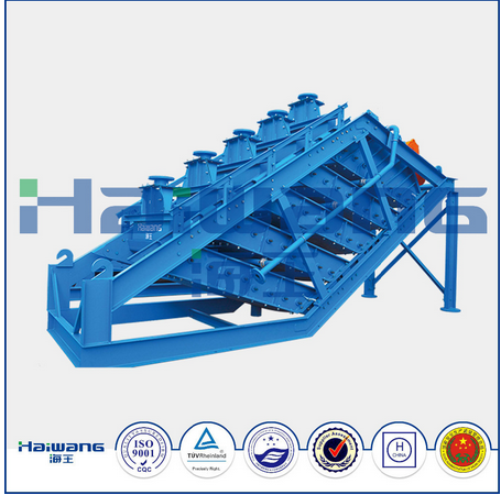 Weihai Haiwang ISO 9001 Multi-layer Vibrating Screen Equipment, Linear Vibrating Screen