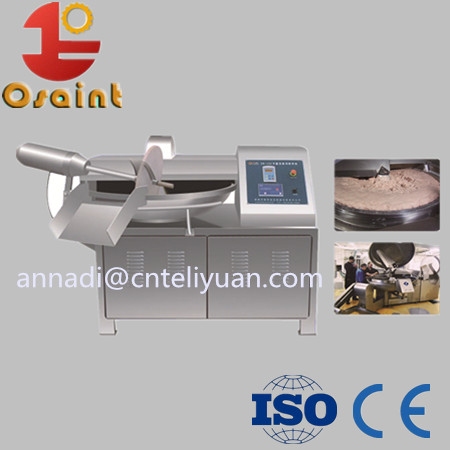 Bowl cutter for meat processing factory