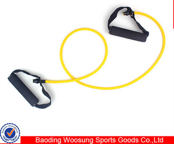 natural rubber exercise loop band sports exercise pull rope fitness tube