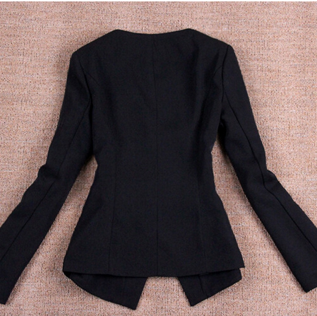 New Women's Fashion Long Sleeve Casual Slim Blazer Jackets OL Lady's Office Work Suits