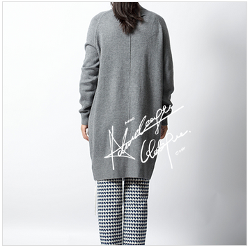 woman woolen cardigan sweater women long coat winter clothes