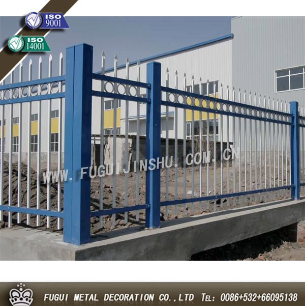 HDG iron fence,steel fence,metal fence