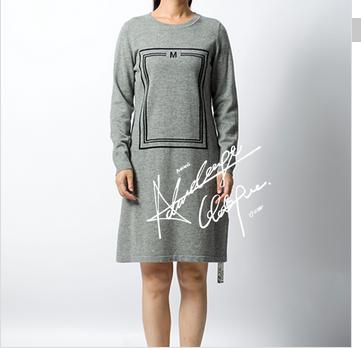 woman 100% wool long sweater fashion sweater design lady wear winter clothes
