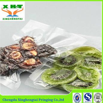 Transparent Vacuum Seal Food Packaging Bag