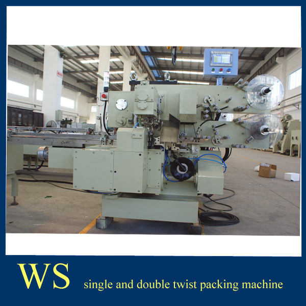 2015 Full Automatic Half Ball Chocolate Single Twist Packaging Equipment