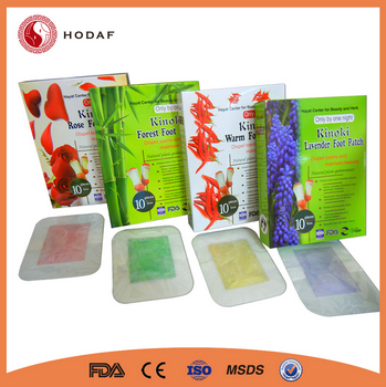Factory auto machine detox foot patch