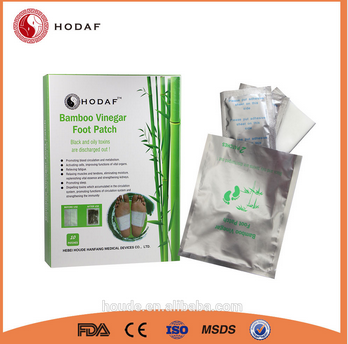 Wholesale Body Pure Clear Foot Patch Relax Detox Patch