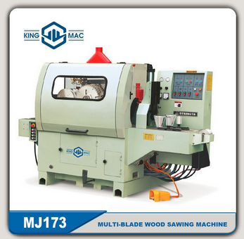 HOT SELL MJ173 Multi-blade Wood Sawing Machine