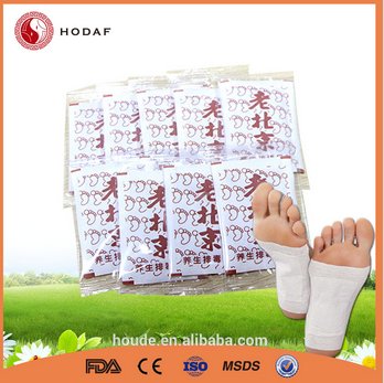 Typical Chinese Traditional Good Health Detox Foot Patch