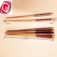 23CM long CIQ FDA SGS certified healthy bamboo tableware chopsticks