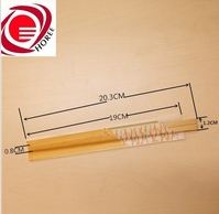 Chinese paper wrapped disposable bamboo wooden twin chopsticks