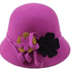 Women's cloche Felt hat