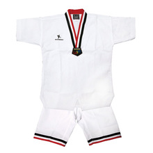 2015 martial arts custom TKD uniform Summer Taekwondo uniform short sleeved taek won do uniform DOBOK
