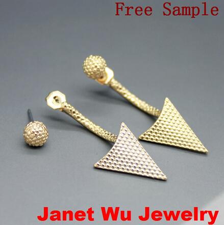 Fashion Women Jewelry Earrings Hot Arrow Stud Earrings