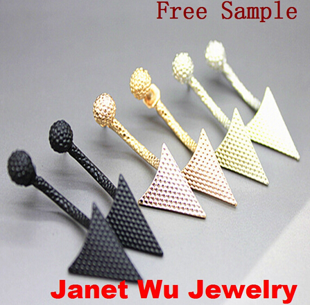 Fashion Women Jewelry Earrings Hot Arrow Stud Earrings