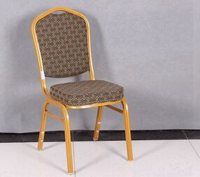 Stock stackable cheap used stackable banquet seating made in China