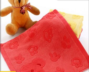 The new factory direct sale Super soft Jacquard high-grade bamboo fiber towel