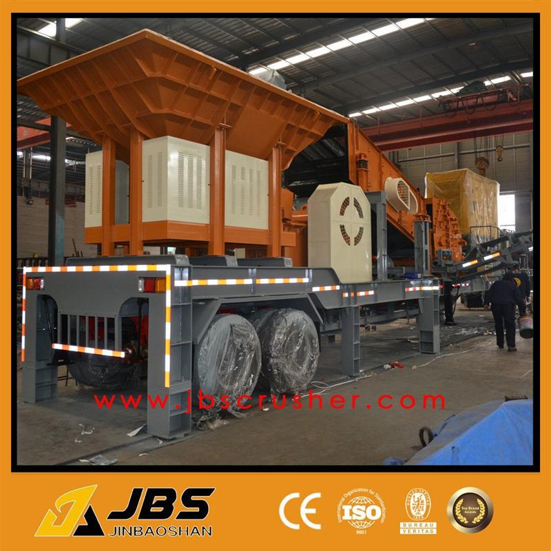 movable crushing machine with low price