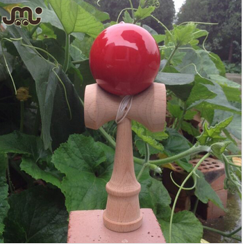 Professional competition solid color kendama for wholesale