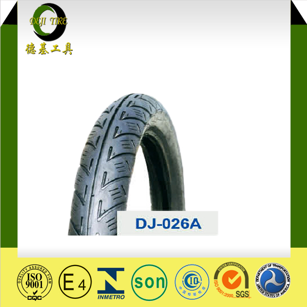 Qingdao 18 inch tubeless motorcycle tire DJ40