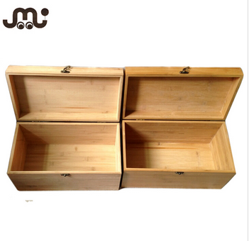 High quality unfinished bamboo box