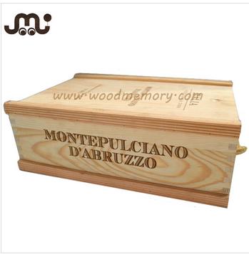 professional squre custom wood box