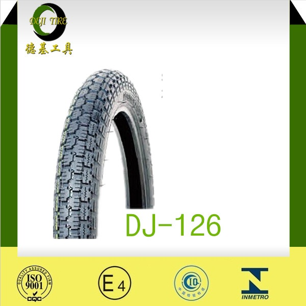 China cheap natural rubber motorcycle tire