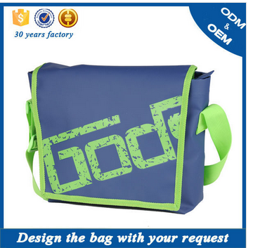 Fashion high quality EU standards messenger shoulder bag